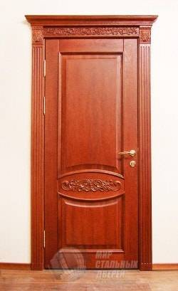 Отделка откосов входной двери Купить доборы и наличники